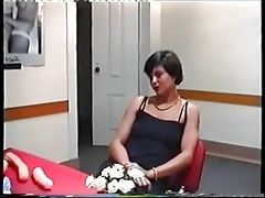 Interviewing a housewife.