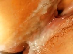 Korean milf masturbation
