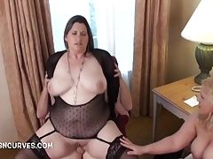 Two wives taking turns on his cock