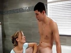stepMom helping her stepson out