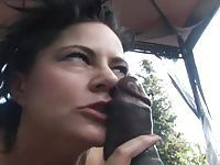 Punk MILF Takes Load in Mouth