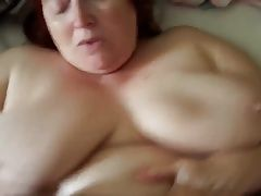 Big titted mature bbw pov