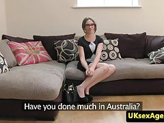 Auditioning australian cocksucking and fucks