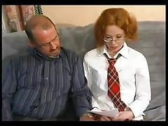 STP5 Ginger Student Gets Persuaded To Fuck !