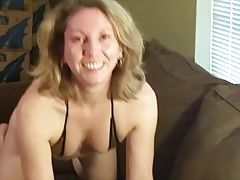 Shy Housewife First Time on Camera