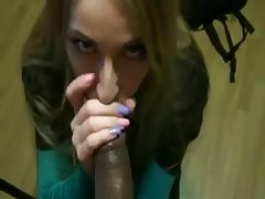 Sucking a horsecock till the the cumshot