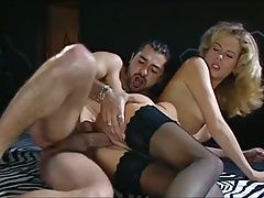 CURLY BLOND GETS FUCKED