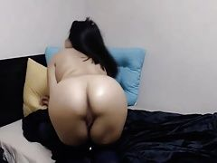 Petite Colombian Teen Pounds Pussy