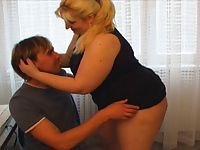 Hot Matures Bbw fucked by youg cocks
