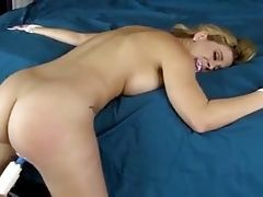 Tied and made to orgasm