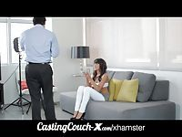 CastingCouch-X dumb whore porn casting