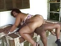 Big Booty Mature Brazilian Woman Fucking