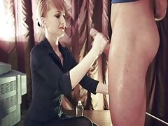 Professional Handjob - 3 Cumshots In A Row