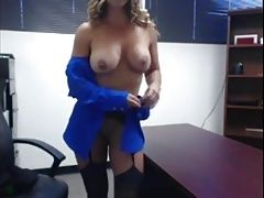 Busty Office MILF 2