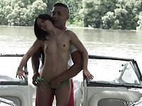 Public anal on the boat - Cassie Right
