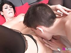 Spanish squirting mature licks Jordis big cock