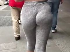 Latina In Leggings