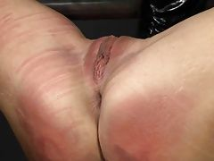 Girl gets her pussy beaten raw