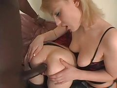 No pussy only BBC anal for 2 ass whores