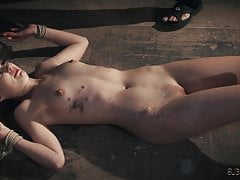 Lolly Smalls ass takes a punishment and a deepthroat cum