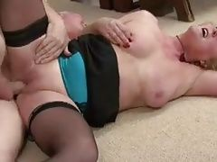 Claire Knight Double Dicked!