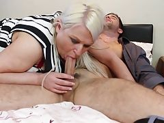 Big mother with huge tits fucked in doggy style