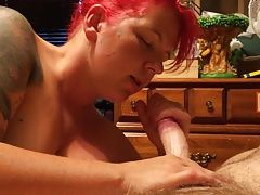 Elise Bryant nude amateur redhead loves my cock