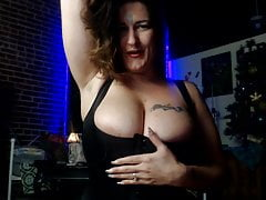 Big boobs tits milf seduces