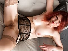 Mature redhead from Germany