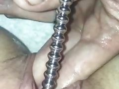Urethral Sounding - Cumming hard and deep penetration