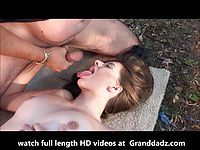 Granddadz.com young woman fucked in the parc