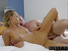 NubileFilms - Naughty Blonde Dicked Down By Her Sisters Man