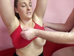busty Melanie great fuck with friends dad