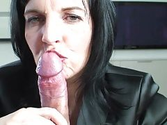 MILF Takes Care Of Cock