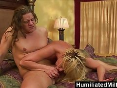HumiliatedMilfs - Phyllisha Anne Sucks The Cock Thats Been