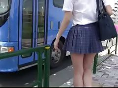 school girl bus