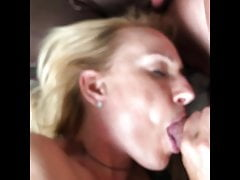 Mutual Masturbation with Blowjob from my blond German wife