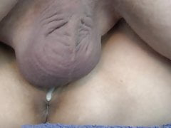 Close up creampie in her pussy