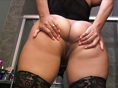 Latina asshole spread and dirty talking