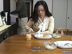 Mom sucking her sons hard cock for his sperm