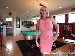 Wifey Swallows Her Second Load In A Row