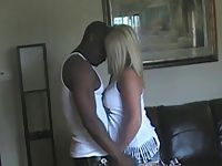 PT Blonde busty wife and her black bull