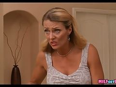 Blonde Mom excited for new Cock