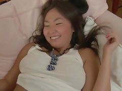 Asian shy Girl with a wonderful Smile. Kc.