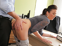 LOAN4K. Fraces likes new loan agent so agrees to fuck for...