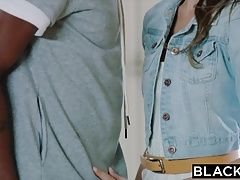 BLACKED teen girl tries bbc