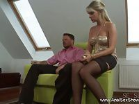 Fuck The Blonde MILF Anal Style