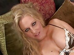 Busty Milf Julia Ann Gets Fucked POV with Big Cock!