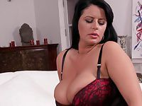 Buxom Mature In Nylons And Heels Teasing HD